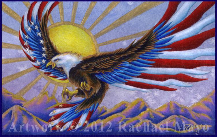Patriot's Flight 4 by rachaelm5