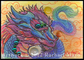 ACEO Dragon 05 by rachaelm5