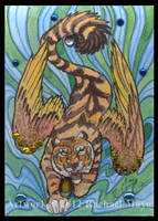ACEO Tiger 01 by rachaelm5