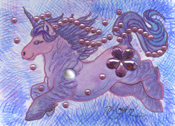 ACEO Unicorn 03 by rachaelm5