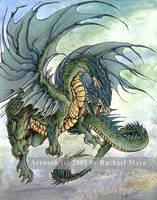 Deep Forest Dragon by rachaelm5