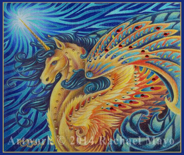 Star Wave Unicorn by rachaelm5