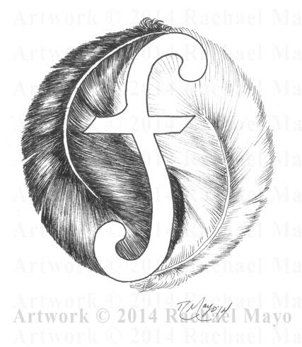 Feather Yin-Yang 02 by rachaelm5