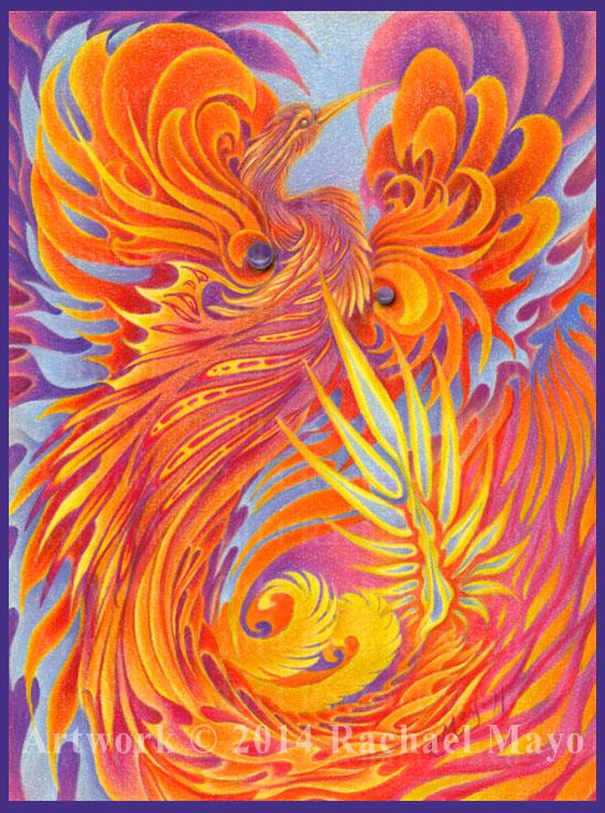 Phoenix of Flame Renewed by rachaelm5