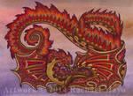 Autumn Spontaneity dragon design