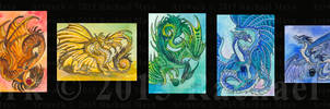 ACEO Western Rainbow Collection