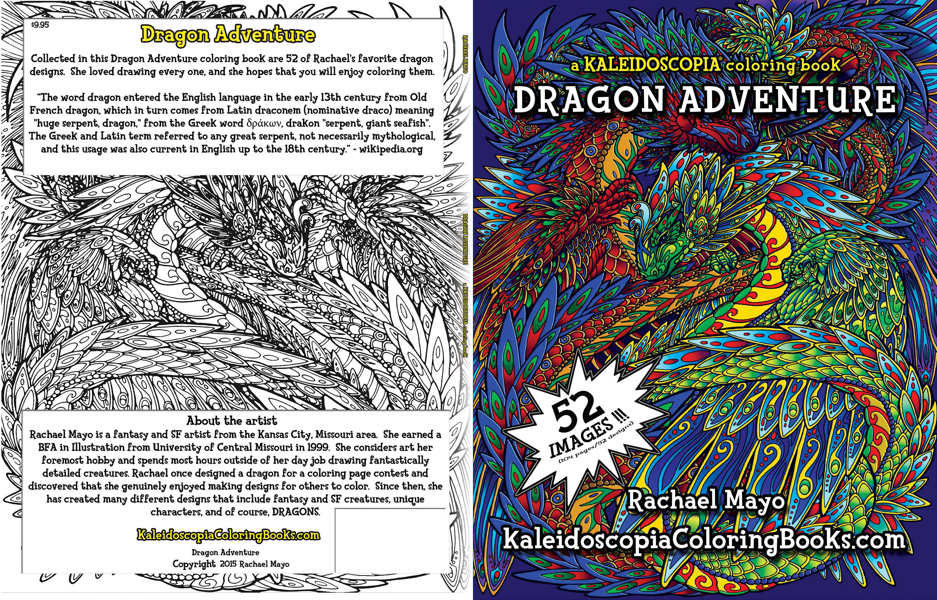 Kaleidoscopia Dragon Adventure By Rachaelm5