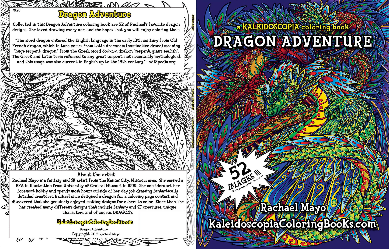 Kaleidoscopia Dragon Adventure by rachaelm5
