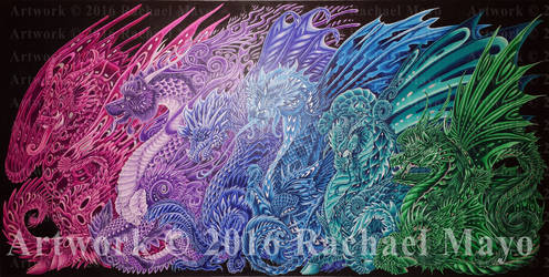 Dragons of the Twilight Dream WIP08 by rachaelm5