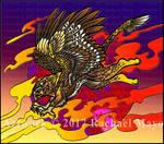 Margruffled Gryphon Alt Colors by rachaelm5