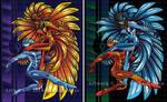 Firebird Cover Illo set
