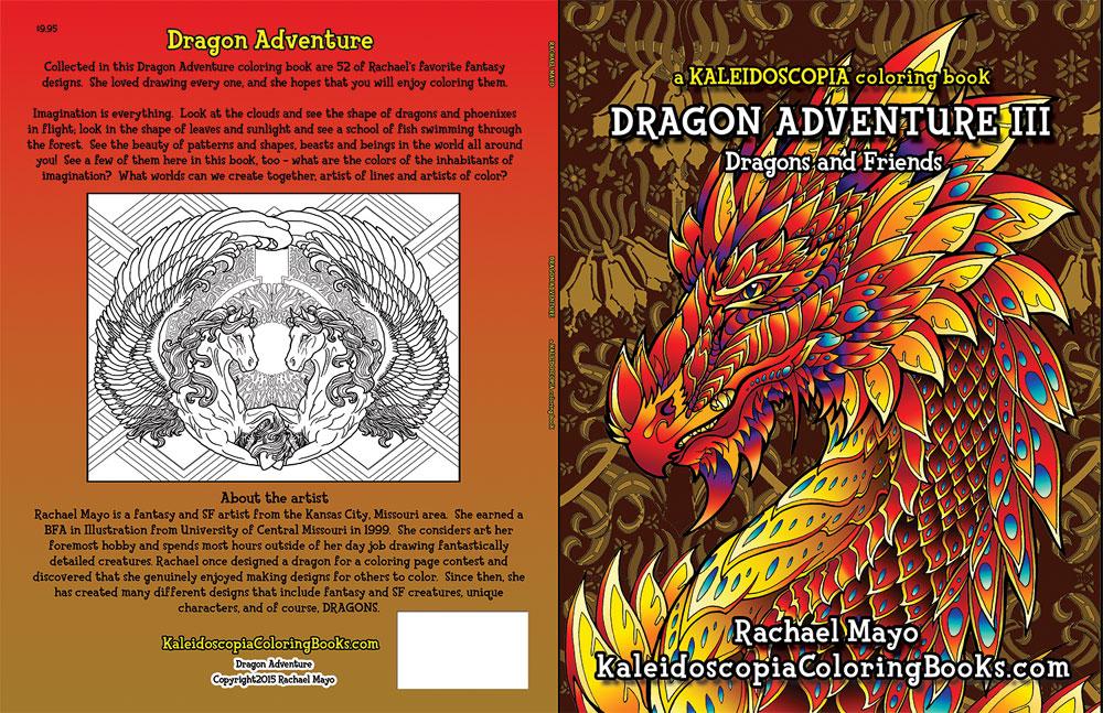 Dragon Adventure 3 coloring book by rachaelm5 on DeviantArt