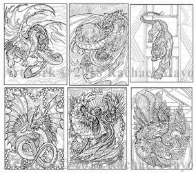 Dragon Adventure 3 sampler 02 by rachaelm5