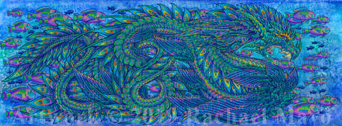 Deep Rising 11 completed dragon by rachaelm5