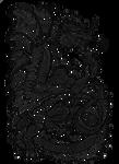 Obsidian Eminence lineart by rachaelm5