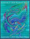 Dreams of Eden 02 dragon design, WIP by rachaelm5