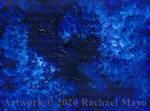 Ultramarine Abstract