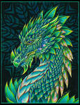 Night Forest Dragon