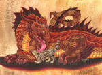 Dragon and Fluffykins