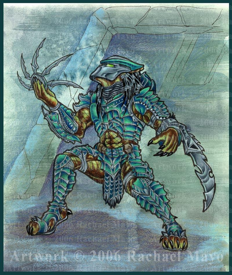 Predator: Gladiator Salute by rachaelm5