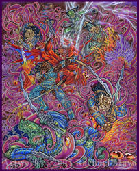Predator: World Cancer final by rachaelm5