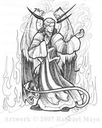 Tremorworks: Lucifer bw by rachaelm5
