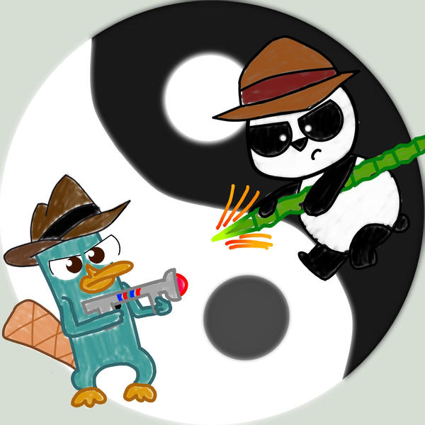 Panda by chowder-lover Phineas And Ferb Agent Panda