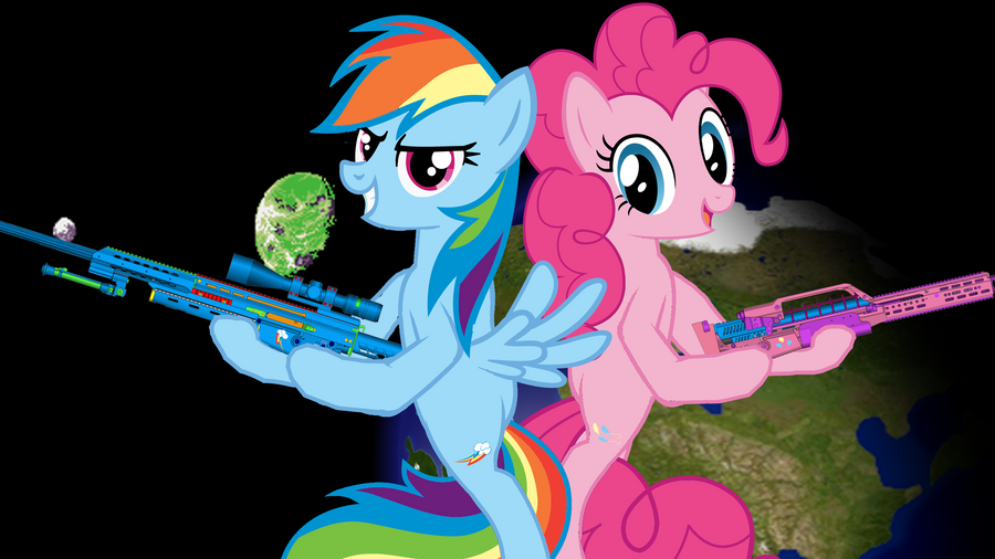 Pinkie Pie X Rainbow Dash Wallpaper By ThreeWheelsTurning