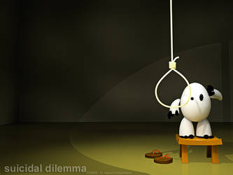 suicidal dilemma by iqbalbaskara