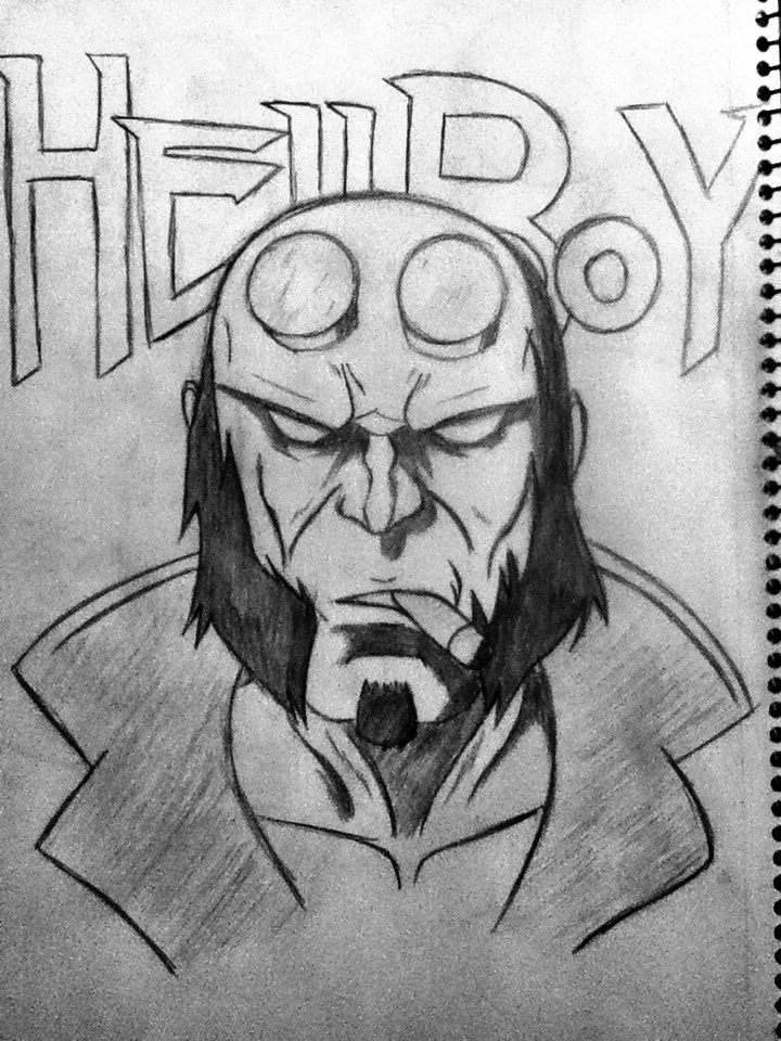 Hellboy by Dmmendez90