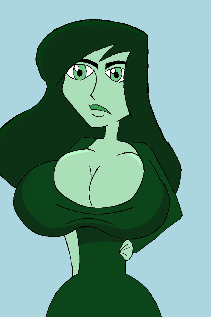 Busty Shego by Dmmendez90