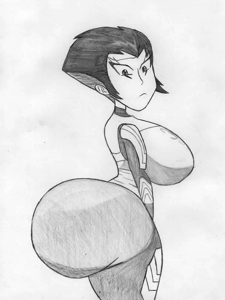 Karai huge booty by Dmmendez90