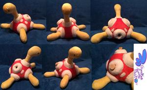 Shuckle Pokemon Plush! 12'' by GuardianEarthPlush