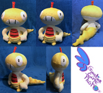 Scaggy Pokemon Plush!