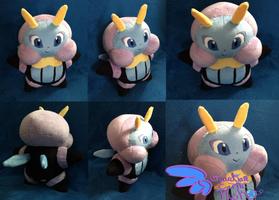 Illumise Pokemon Plush! 10'' by GuardianEarthPlush