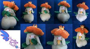 Lilligant Pokemon Plush 12.5'' Poseable arms!