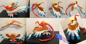 Mega Pidgeot! Poseable Wings Tail and Head Feather