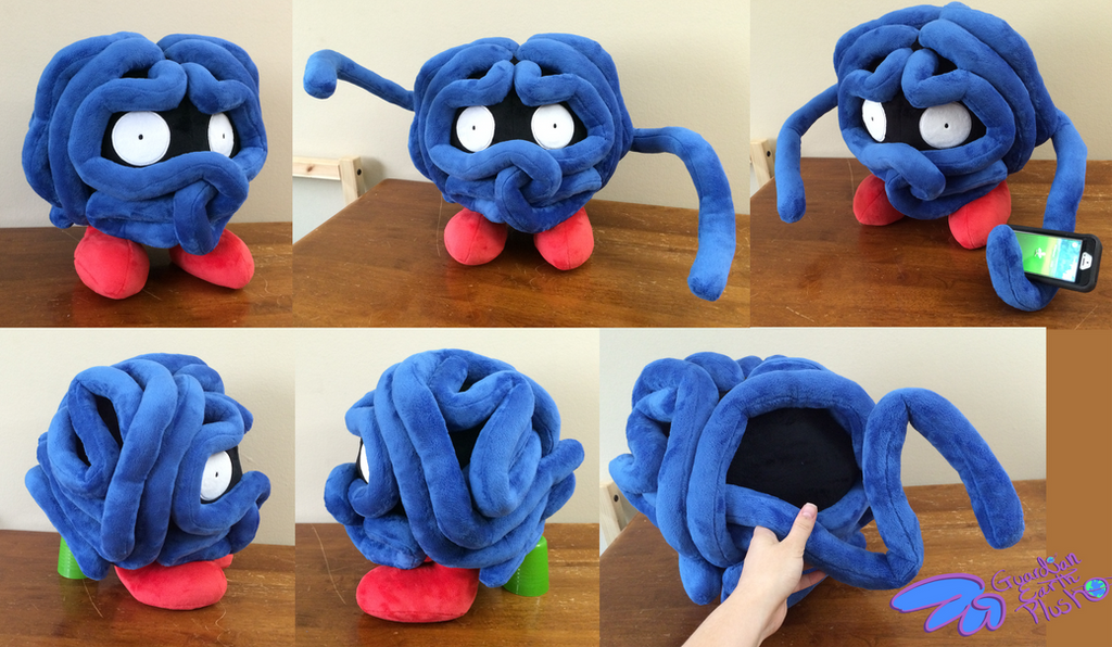 tangela pokemon plush 14 poseable vines by guardianearthplush on