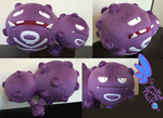 Weezing Pokemon Plush 21'' Huge
