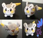 Togedemaru Pokemon Plush! 4''