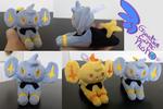 Shinx Pokemon Plush Keychain! 6''