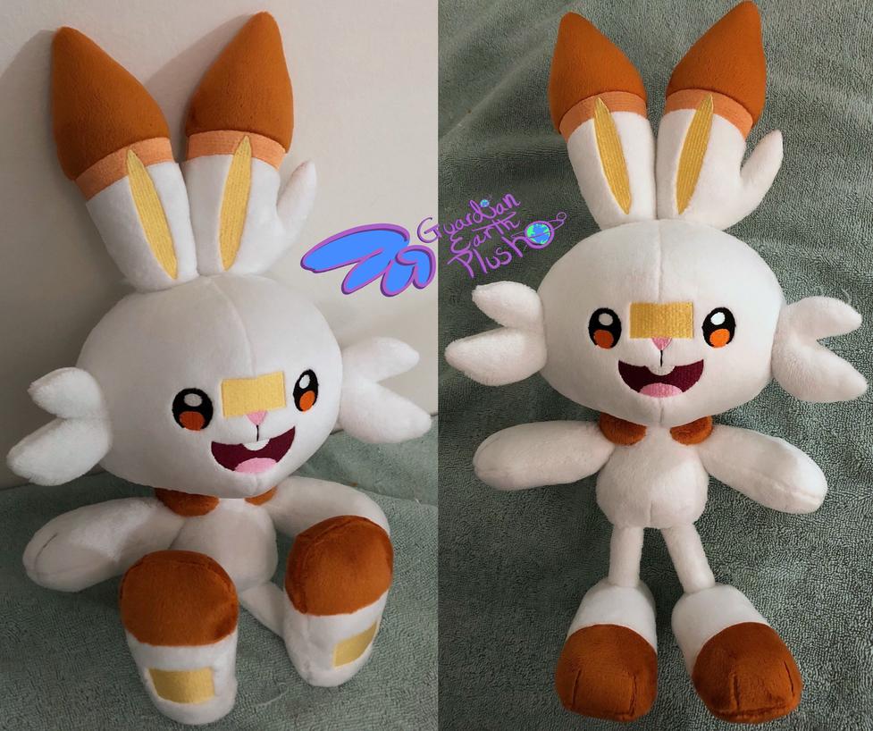 Scorbunny 16'' Pokemon Plush!