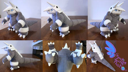 Aggron 14'' Pokemon Plush by GuardianEarthPlush