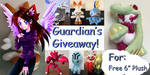 Guardian's Giveaway! by GuardianEarthPlush