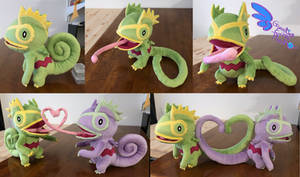 Kecleon 13'' Pokemon Plush Poeseable!