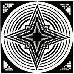 Geometric star by VessART
