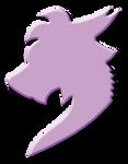 Lilac Dragon Silhouette