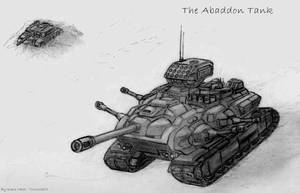 The Abaddon Mobile Fortress by KaneNash