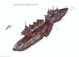 Allied Aircraft Carrier by KaneNash