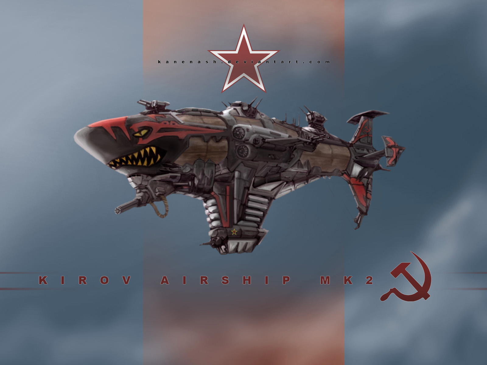 Airship Kirov MK2 by KaneNash